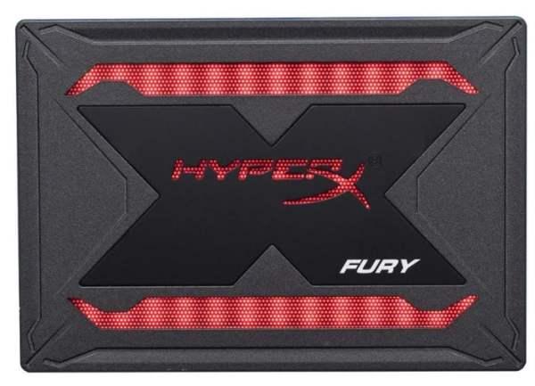 RGB ışıklandırma sistemli SSD: HyperX Fury RGB