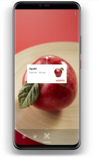 Huawei Mate 20 Pro kamerası ile yiyeceklerin kalorilerini ölçün, alışveriş yapın