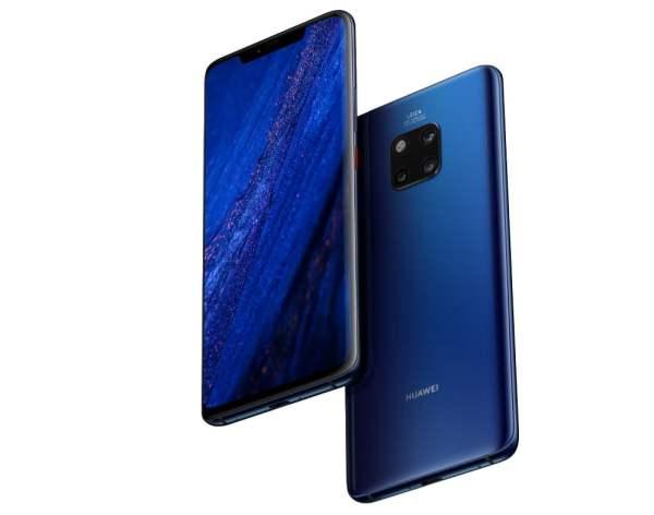 Huawei Mate 20 Pro ile güvendesiniz!