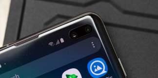 Galaxy S10 için ekran koruyucusu