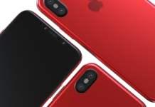 kırmızı iPhone Xs