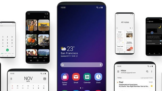 Galaxy S8 ve Note 8 için Android 9.0 Pie