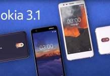 Nokia 3.1 için Android Pie