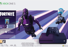 Xbox One S Fortnite Limited Edition