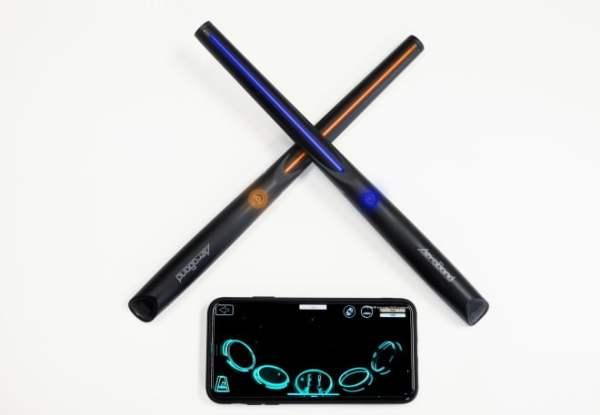 20 saniyede diş fırçalayıp air drum çalabilirsiniz: Encompass ve PocketDrum