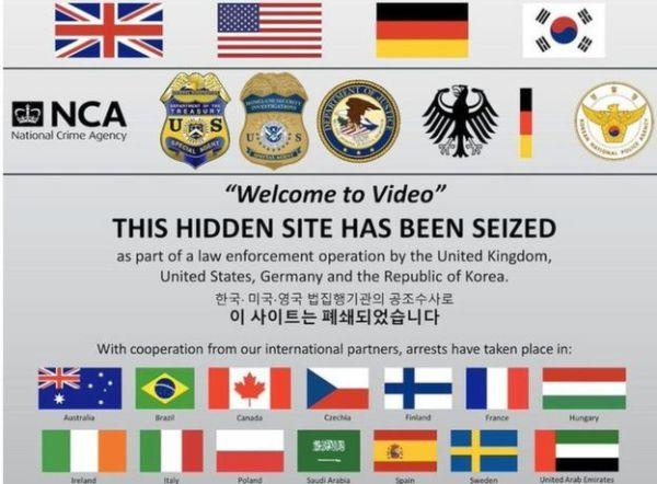 38 ülkede dark web