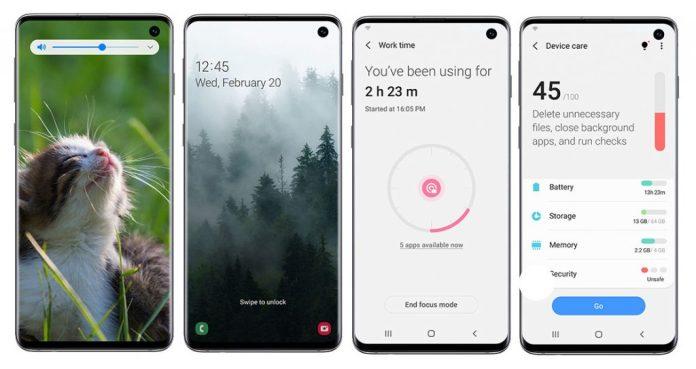Galaxy S10 için Android 10