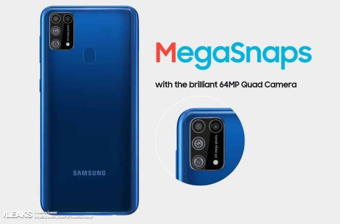Galaxy M31 teknik özellikleri