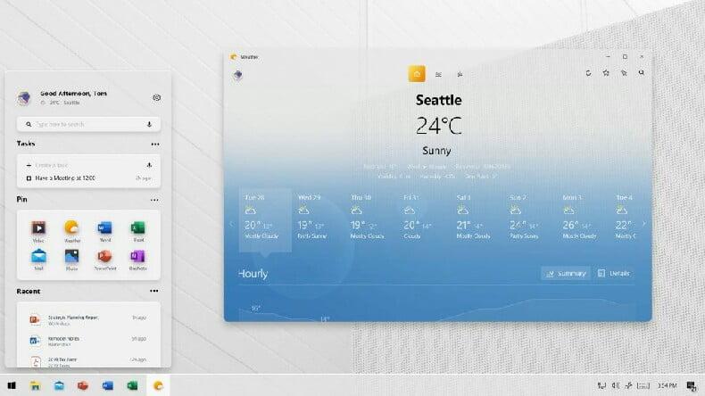 Windows 10 tasarımı güncelleniyor: İşte yeni yüzüyle Windows 10