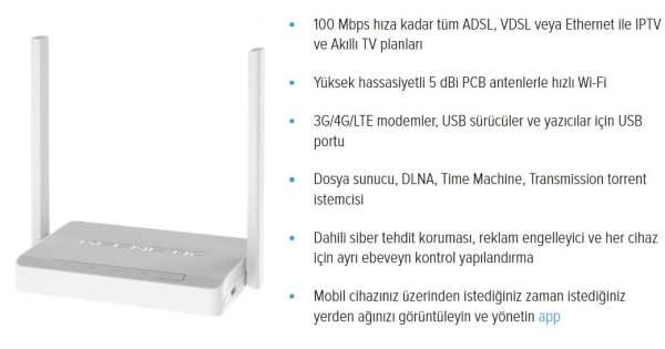 Keenetic Omni DSL ile ev ve iş yerinizde yepyeni bir kablosuz çözüm!