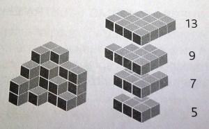 Desafio 11 - Cubos empilhados Dona Sebenta 2
