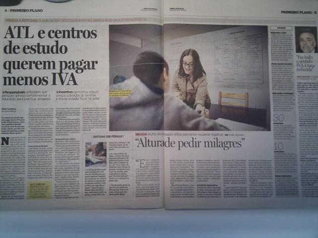 A Dona Sebenta no Jornal de Notícias 03