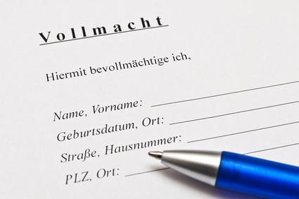 Hogy néz ki egy német ügyvédi meghatalmazás?