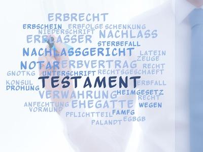 Kosten einer Testamentshinterlegung