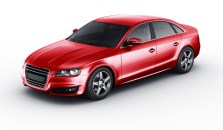 Photo realistic illustration of sports sedan showing rare example of a donated car.
