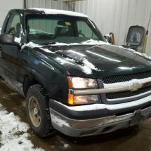 Discounted 2003 CHEVROLET SILVERADO 4.3L