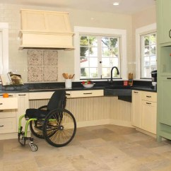 Wheelchair Kitchen Cheap Living Room Chairs 12 Remodeling Tips Aging In Place Geneva Il