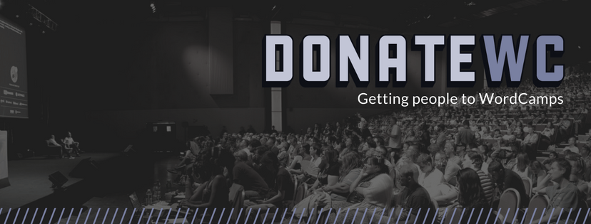 DonateWC - getting people to WordCamps
