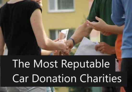 Reputable charities