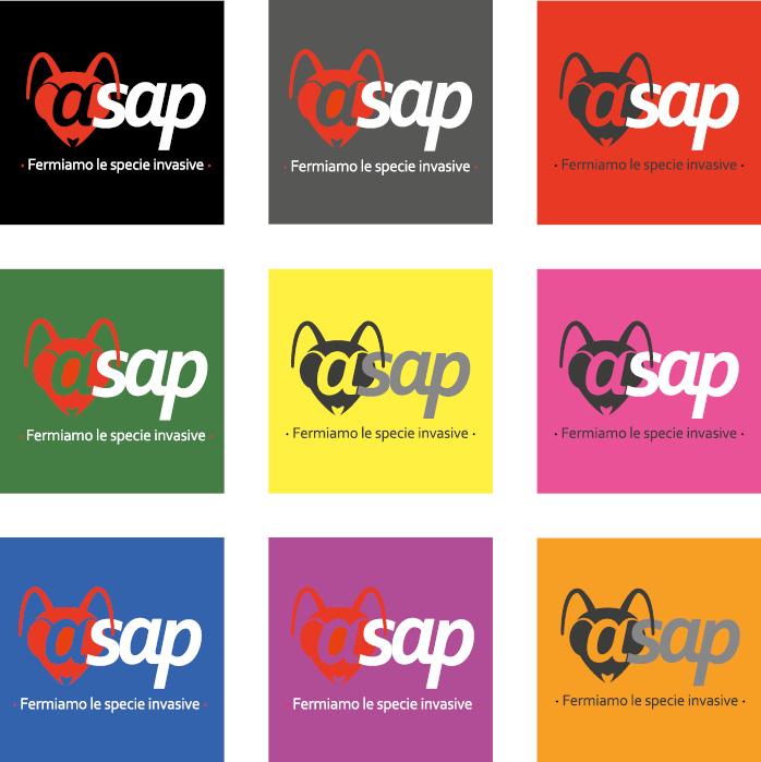 logo ASAP - brand identity