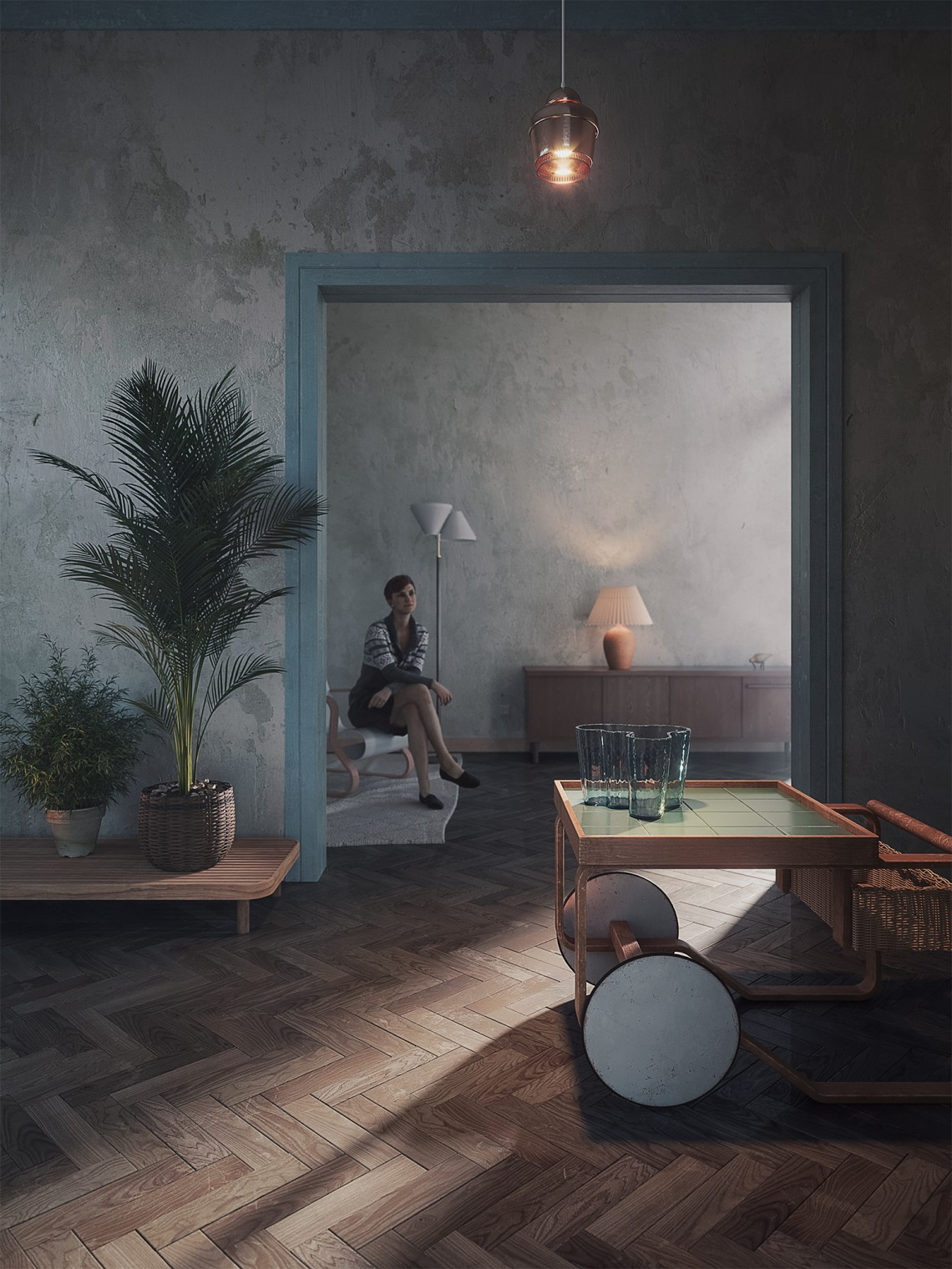 Pandora's vase - rendering Donato Locantore