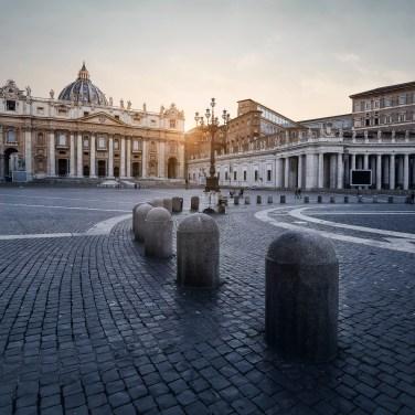 San Pietro in Roma, post-produzione con Photoshop   Foto di Donato Locantore