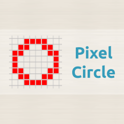Minecraft Circle Diagram Vw Beetle Rear Suspension Pixel Oval Generator Donat Studios