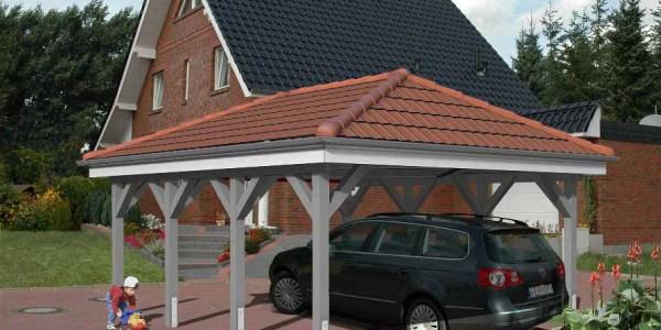 Carport aus Holz und Alu Ingolstadt
