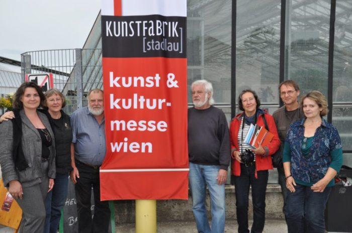 Mitglieder der Kunstfabrik (stadlau) - Foto von Karl Juris