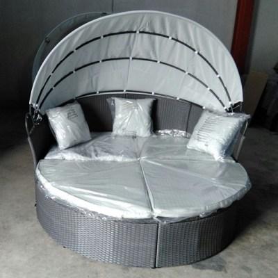 Sofá cama de jardín redondo - Sol