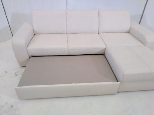 Cama de sofá cama con chaise longue - Costa.
