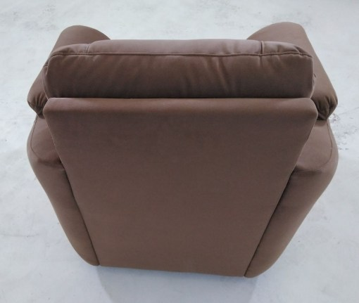Back side. Brown Armchair - Sara
