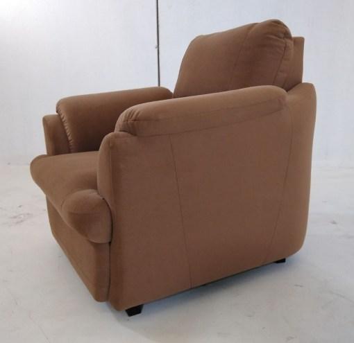Left side. Brown Armchair - Sara