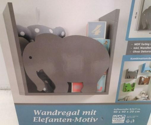 Estantería para niños - Elefante
