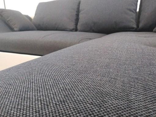 Textura de la tela. Sofá rinconero con cama extensible - Carmen