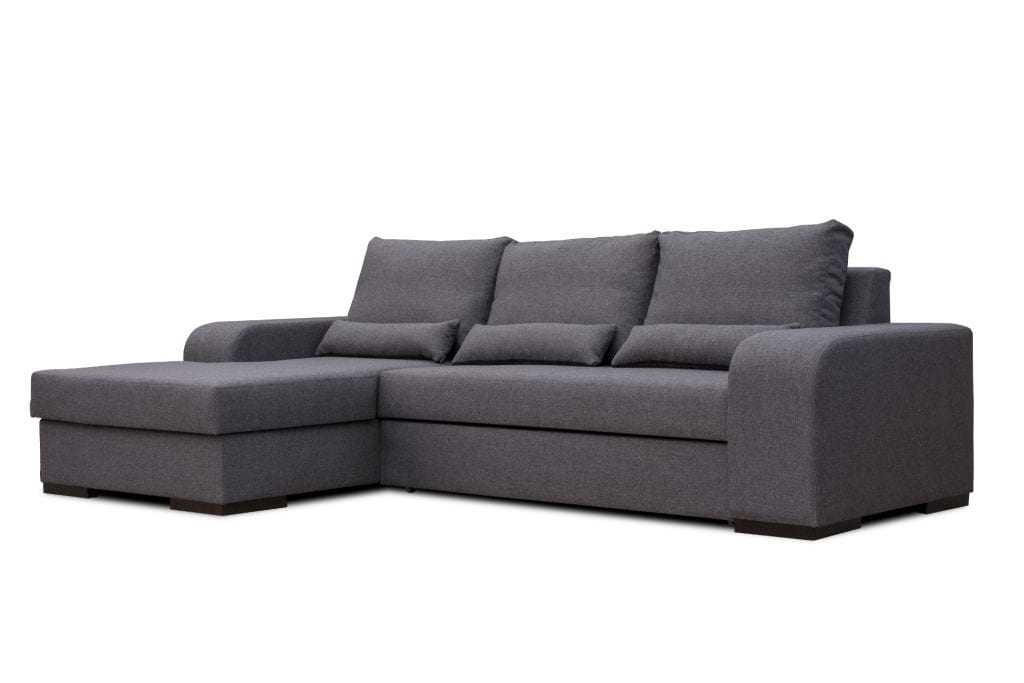 Grey Chaise Longue Sofa Bed Bahamas Don Baraton