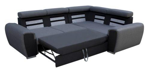 Cama de sofá rinconera gris - Bali