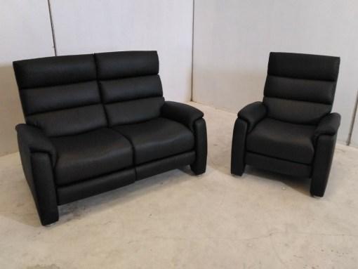 Conjunto sofá 2 plazas relax y sillon relax - Chicago
