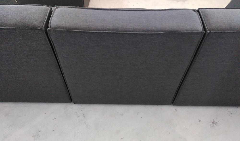 Sof modular 3 plazas m s puf modules don baraton for Tela sofa exterior
