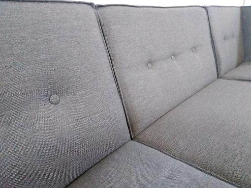 Respaldos. Sofá de 3 plazas más puf - Modules
