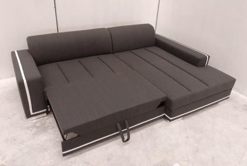 Cama abierta. Sofá con chaise longue grande - Caicos