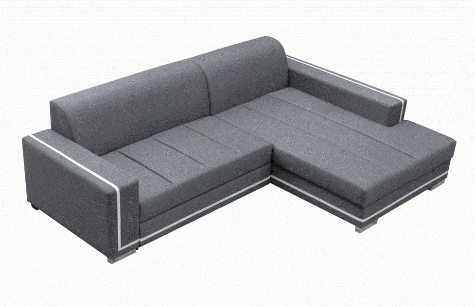 Sof cama con chaise longue grande caicos don baraton for Oferta sofa cama chaise longue