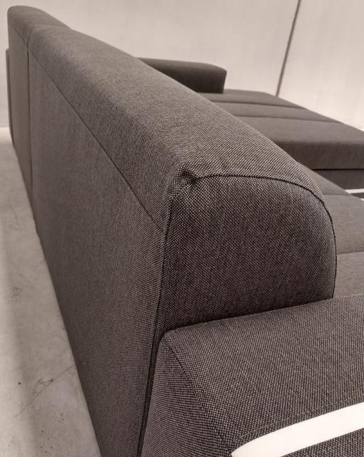 Respaldo detras. Sofá cama con chaise longue - Caicos