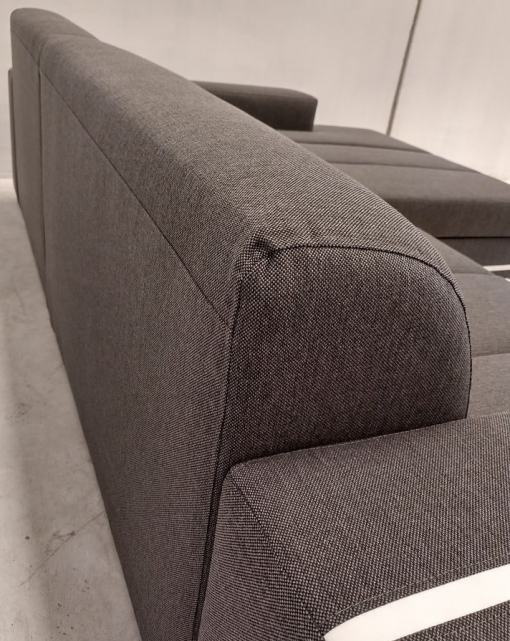 Outer Backrest. Sofa Bed with Spacious Chaise Longue - Caicos