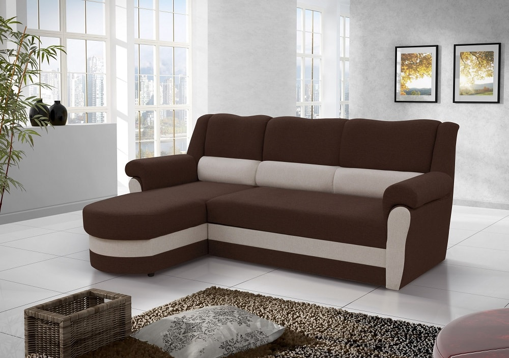 Sof chaise longue cama con alto respaldo parma don for Sofa con chaise longue