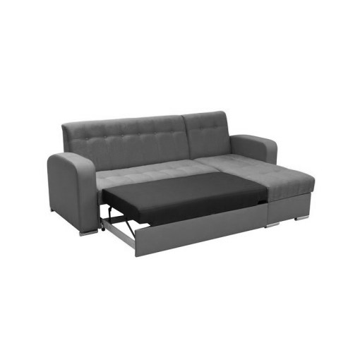 The Pull-Out Bed. Chaise Longue Sofa with Pull-Out Bed and Storage - Salerno