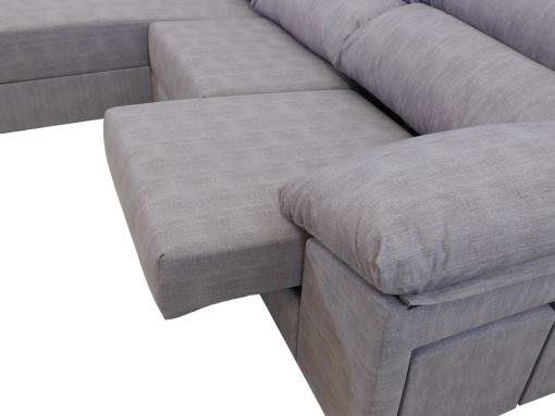 Reposabrazo. Sofá con asientos deslizantes. - Gothenburg