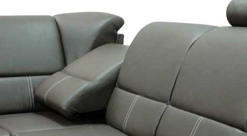 Asiento reclinable. Sofá rinconera cama con reposacabezas reclinables - Navagio
