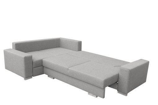 Sofa Unfolded into Bed. Corner Sofa with Folding Bed and Storage - Harbour