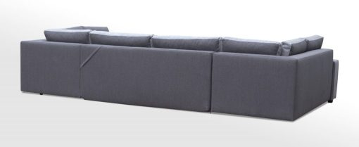"""Обивка сзади. Большой диван-кровать в форме """"П"""" с тремя отделениями для хранения - Baia"""